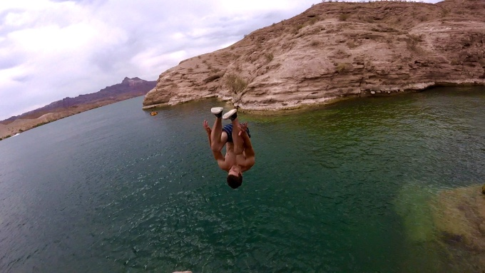 Cliff Jumping in Las Vegas!